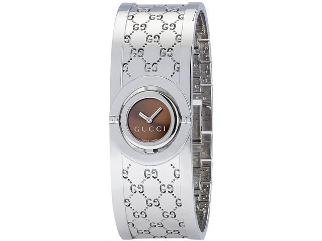 Gucci Twirl Bangle Ladies Watch YA112501