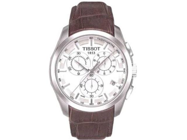 Tissot Couturier Silver Dial Mens Watch T0356171603100