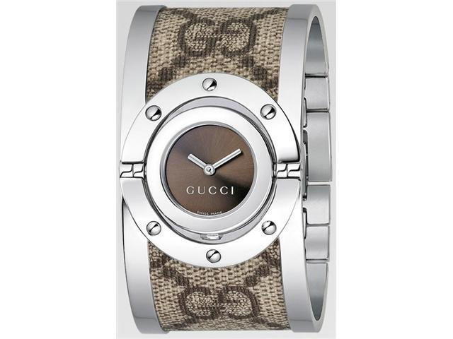 Gucci 112 Twirl Bangle Ladies Watch YA112425