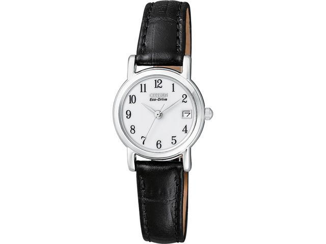 Citizen Eco-Drive Leather Ladies Watch EW1270-06A