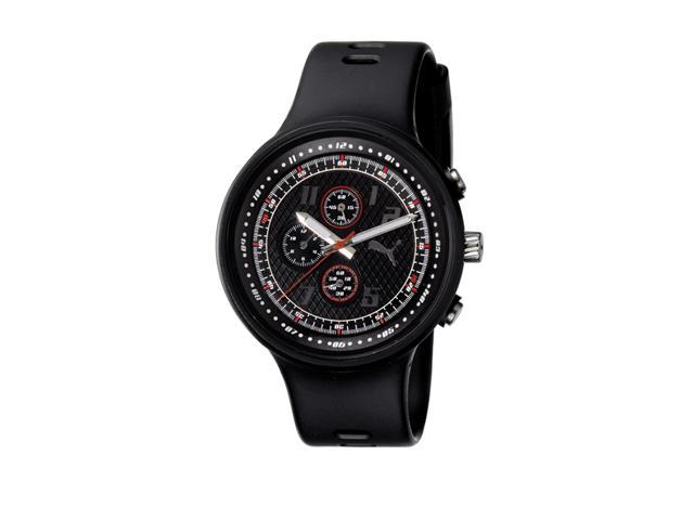 Puma Straps Slick Chronograph Black Dial Men's watch #PU910401001