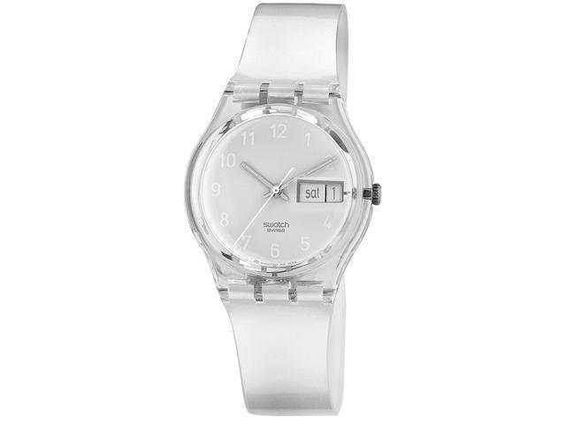 Swatch Snowcovered White Unisex Watch GK733