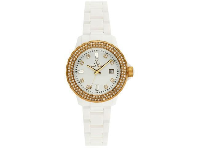 Toy Watch Plasteramic White and Gold N32208-WHG