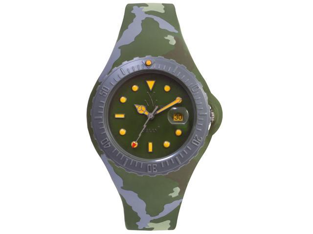Toy Watch Jelly Army Hunter Green Camo JYA01HG