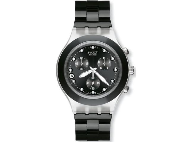 Swatch Mens Irony Chrono Watch SVCK4035G