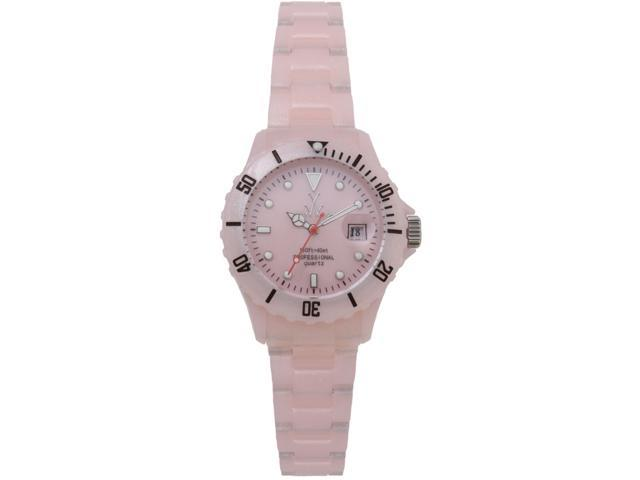 Toy Watch Plasteramic Pearilzed Pearl Pink Watch FLP05PK