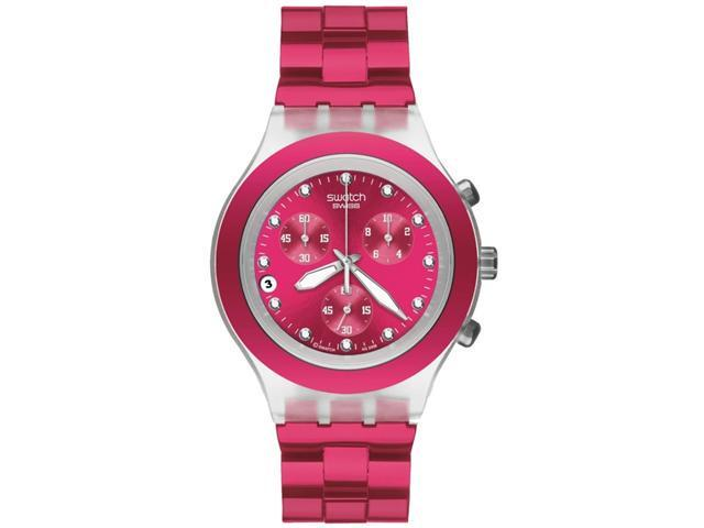 Swatch Full-Blooded Raspberry Watch SVCK4050AG