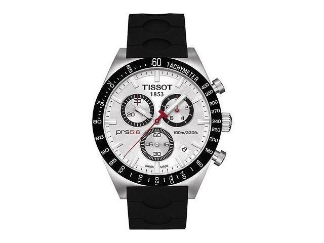 Tissot PRS 516 Mens Chrono Quartz Stainless Steel
