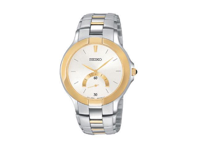 Seiko Two-Tone Mens Watch SRK018