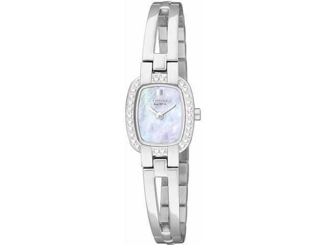 Citizen Crystal Silhouette Ladies Eco Drive S. Steel