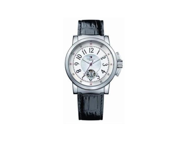 Tommy Hilfiger Automatic Leather Ladies Watch 1780818