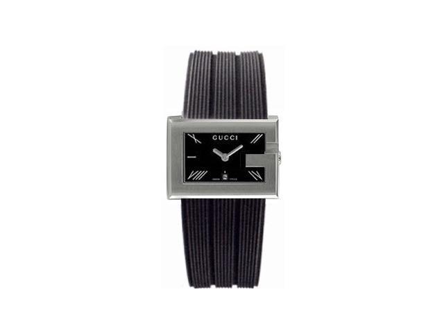 Gucci 100 G-Rectangle Series Ladies Watch YA100504