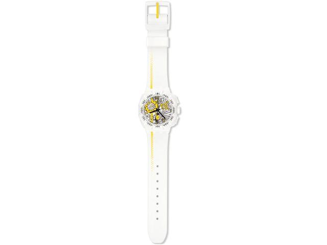 Swatch 'Street Map Yellow' Watch SUIW410