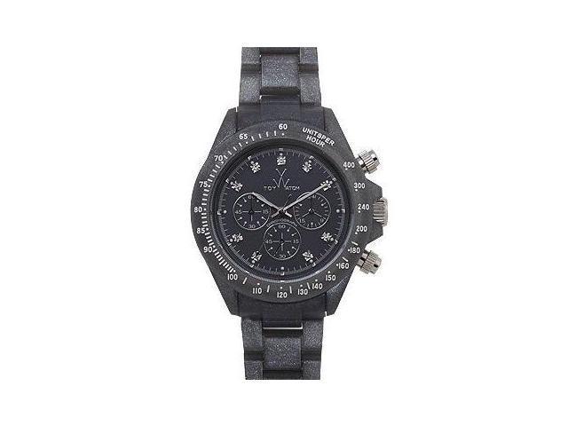 Toy Watch Plasteramic Pearilzed Gunmetal Watch FLP08GU