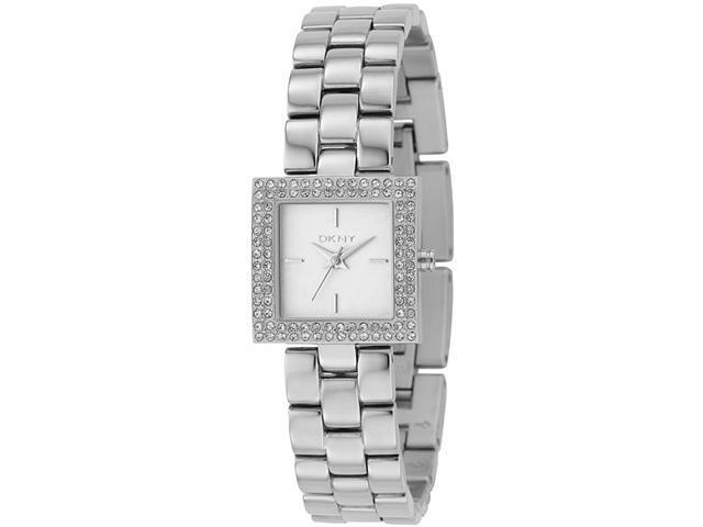 DKNY Crystal Stainless Steel Ladies Watch NY4881