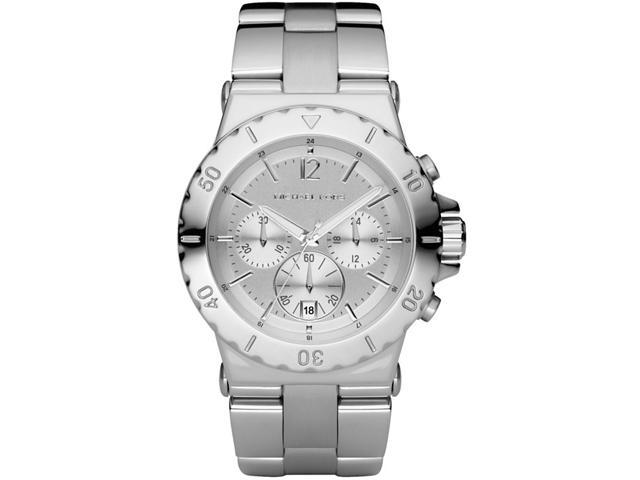 Michael Kors Chronograph Silver Dial Stainless Steel