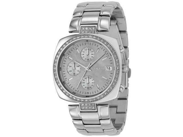 DKNY Stainless Steel Chronograph Ladies Watch NY4907