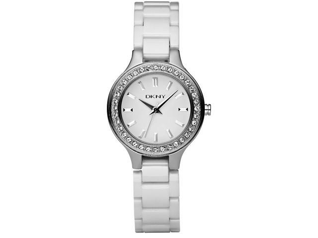 DKNY NY4982 Women's White Dial Ceramic Analog Watch