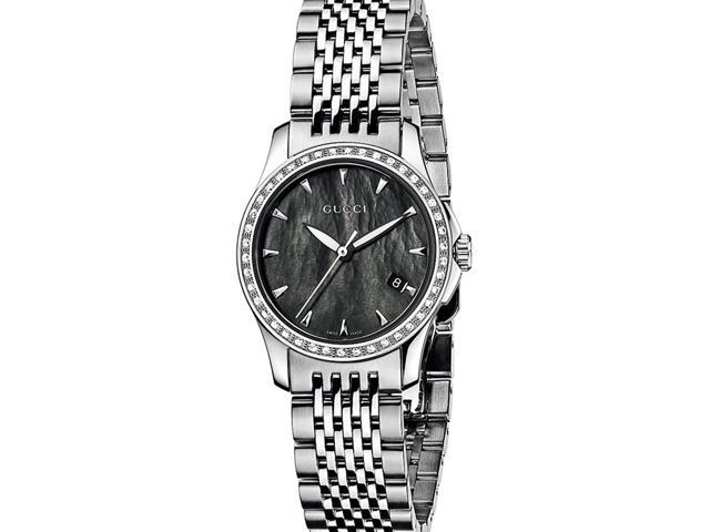 Gucci G Timeless Diamond Bracelet Watch YA126507