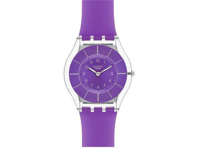Swatch PURPLE CLASSINESS Ladies Watch SFK365