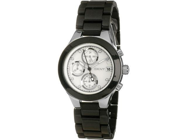 DKNY Ladies Black Strap Watch NY8064