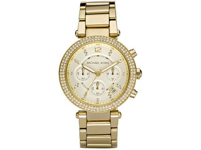 Michael Kors Crystal Chronograph Ladies Watch MK5354