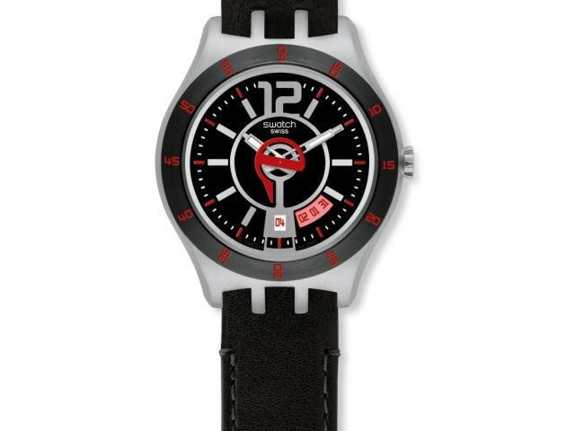 Swatch Irony In a Vibrant Mode Black Dial Men's watch #YTS402