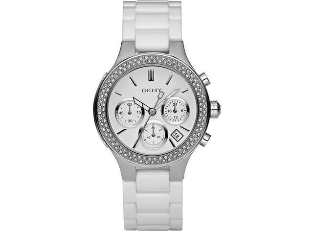 DKNY White Ceramic Ladies Watch NY4985