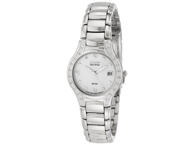 Citizen Eco-Drive Diamonds Modena White Dial Women's watch #EW0970-51B