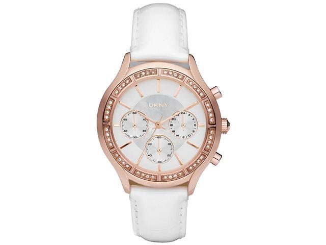 DKNY Rose Gold Chronograph   Ladies Watch NY8255