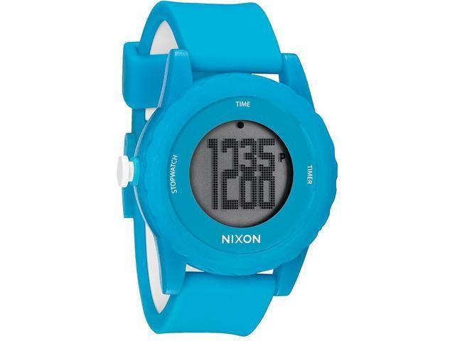 Nixon The Genie Digital Silicone Mens Watch A326917