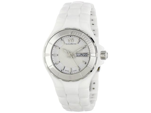 Technomarine Cruise Ceramic White Dial Ladies Watch 110022C