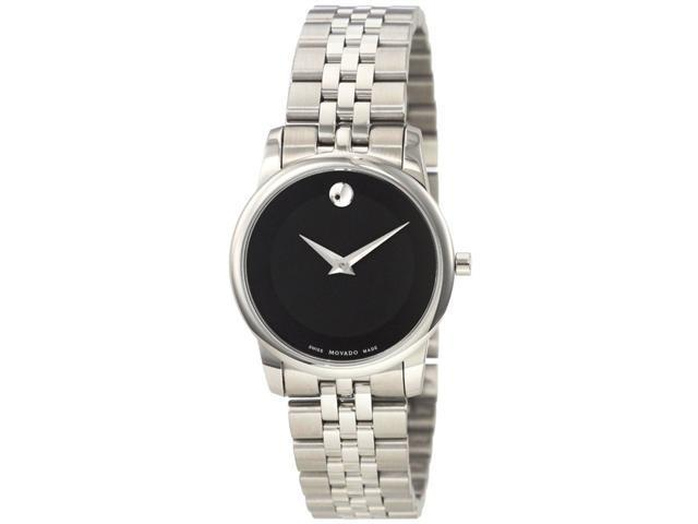 Movado Museum Stainless   Steel Ladies Watch   0606505