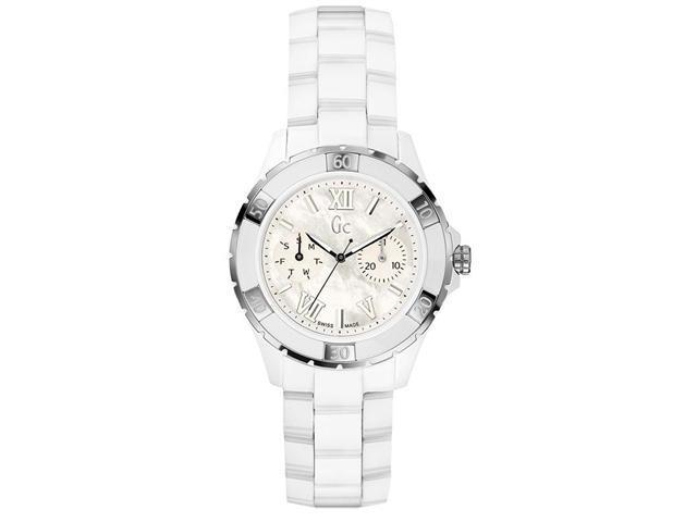 GUESS Gc Sport Class XL-S Glam Ceramic Automatic Ladies Watch X69001L1S