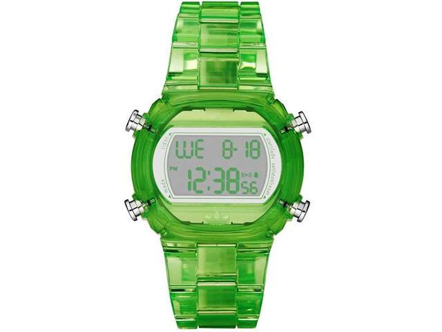Adidas Nylon Candy Digital Grey Dial Unisex watch #ADH6508