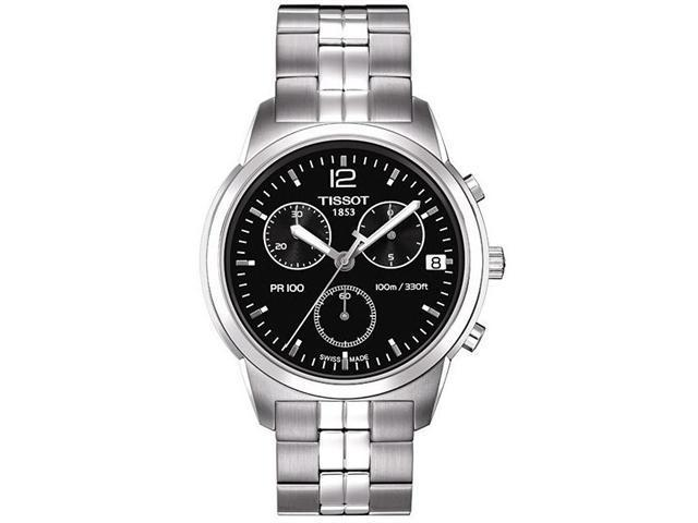 Tissot PR100 Stainless Steel   Chronograph Mens Watch   T0494171105700