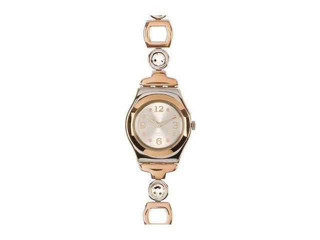 Swatch Irony Lady Passion Silver Dial Two-Tone Steel Ladies Watch YSS234G