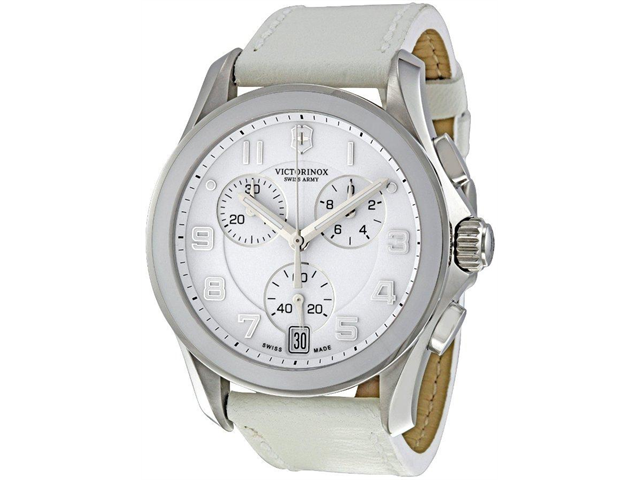 Swiss Army Victorinox Chrono   Classic Leather Ladies Watch   241500