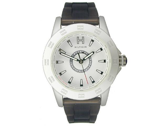 Tommy Hilfiger Semi-transparent Silicone White Dial Women's watch #1781101