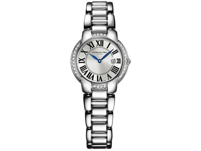 Raymond Weil Jasmine Diamond Silver Dial Steel Ladies Watch 5229-STS-00659