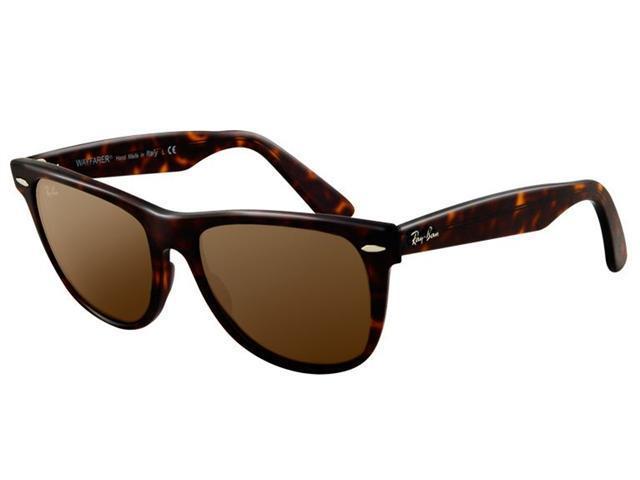 Ray-Ban New Wayfarer Tortoise Unisex Sunglasses RB2140-902/58-50