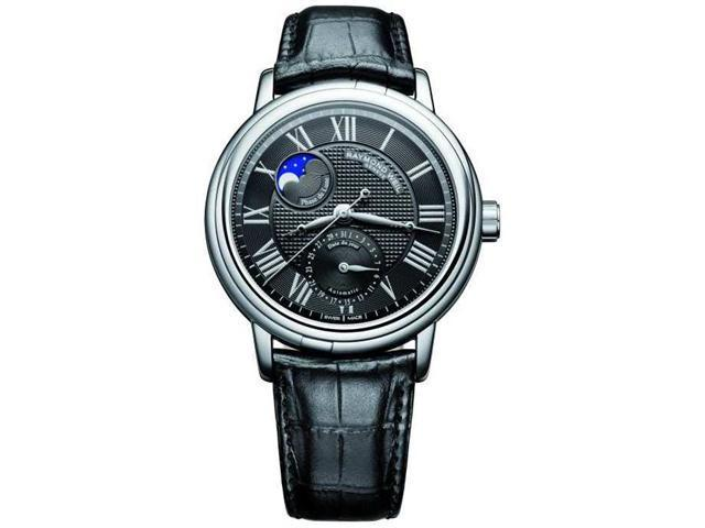 Raymond Weil 2839-STC-00209 Maestro Black Dial Black Leather Men's Watch