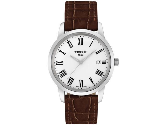 Tissot Classic Dream Leather Mens Watch T0334101601301