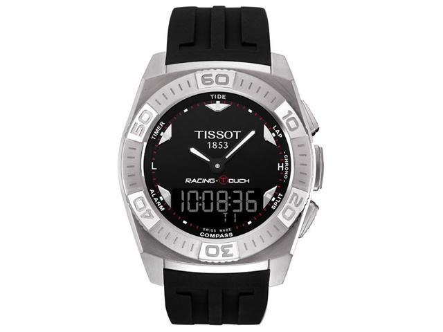 Tissot Racing Touch Chronograph Rubber Mens Watch T0025201705100