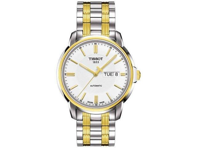 Tissot Automatic III Two-Tone Mens Watch T0654302203100