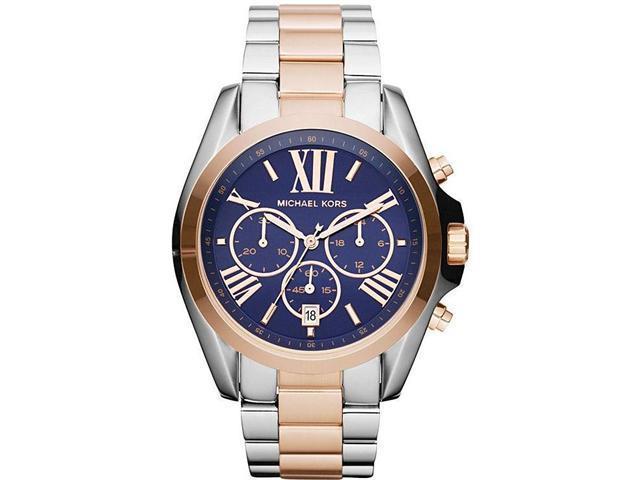 Michael Kors Bradshaw Two-Tone Chronograph Ladies Watch MK5606