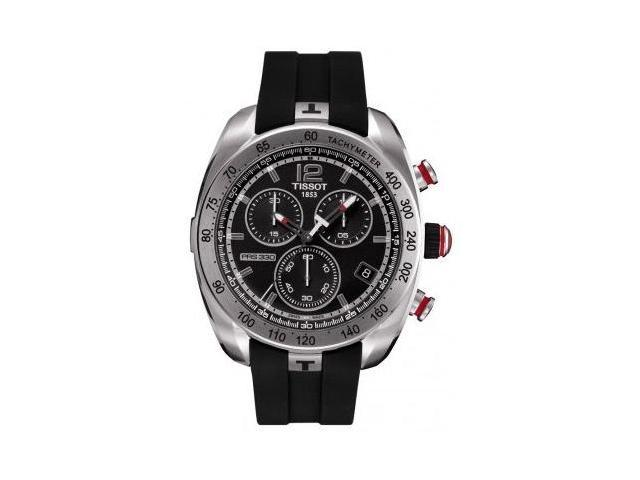 Tissot PRS 330 Chronograph Black Dial Mens Watch T0764171705700