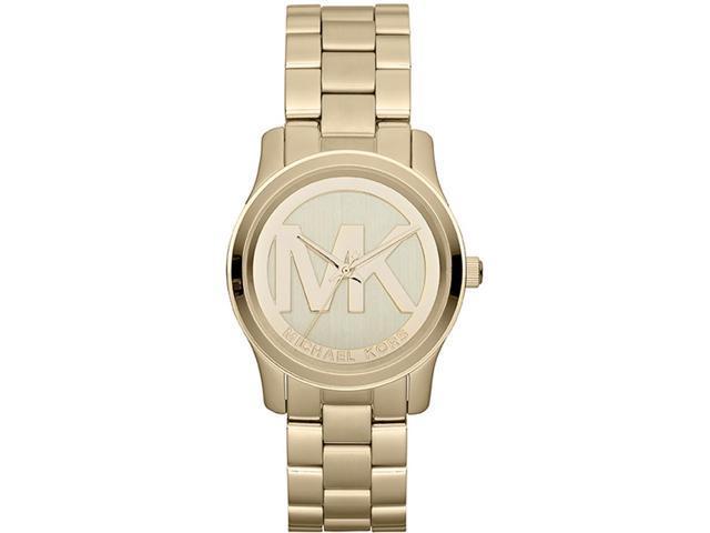 Michael Kors Parker Champagne Dial Gold-tone Watch MK5786
