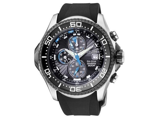 Citizen Eco-Drive Promaster Rubber Mens Watch BJ2110-01E