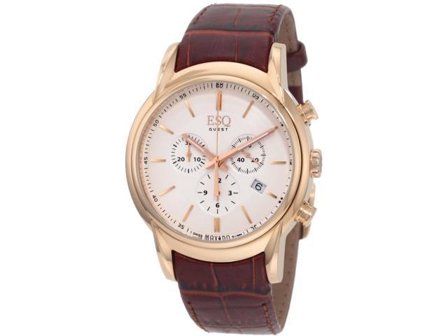 ESQ by Movado Quest 07301401 White Dial Men's Watch